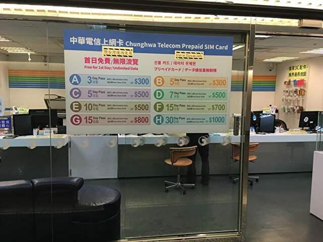 台湾simカードのプラン