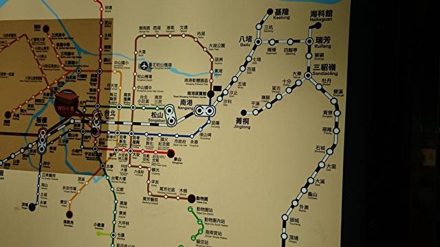 台湾の路線図